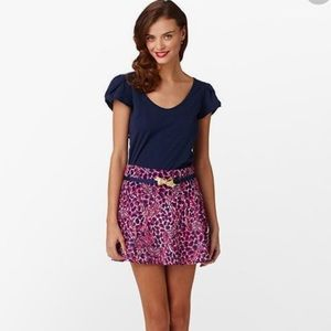 Lilly Pulitzer Charleston Skirt Hollyhuck Gigi